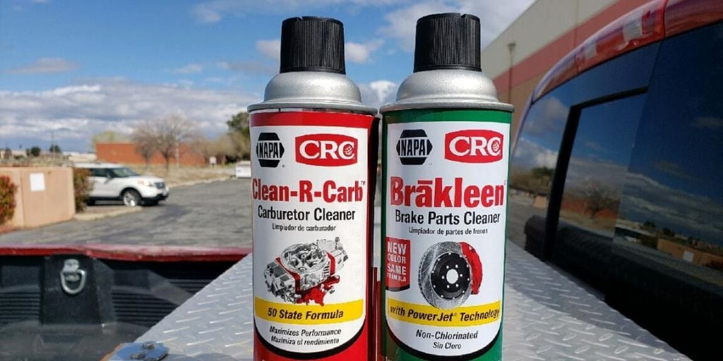 carb cleaner vs brake cleaner