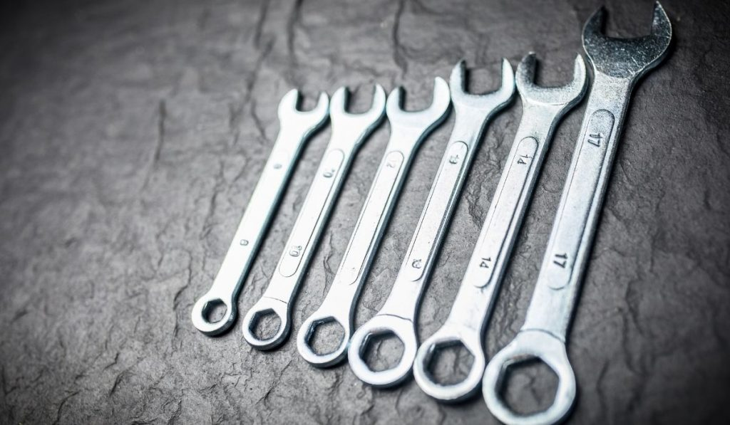 Open-Ended Wrench