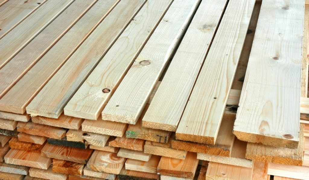 Dry Treated Timber