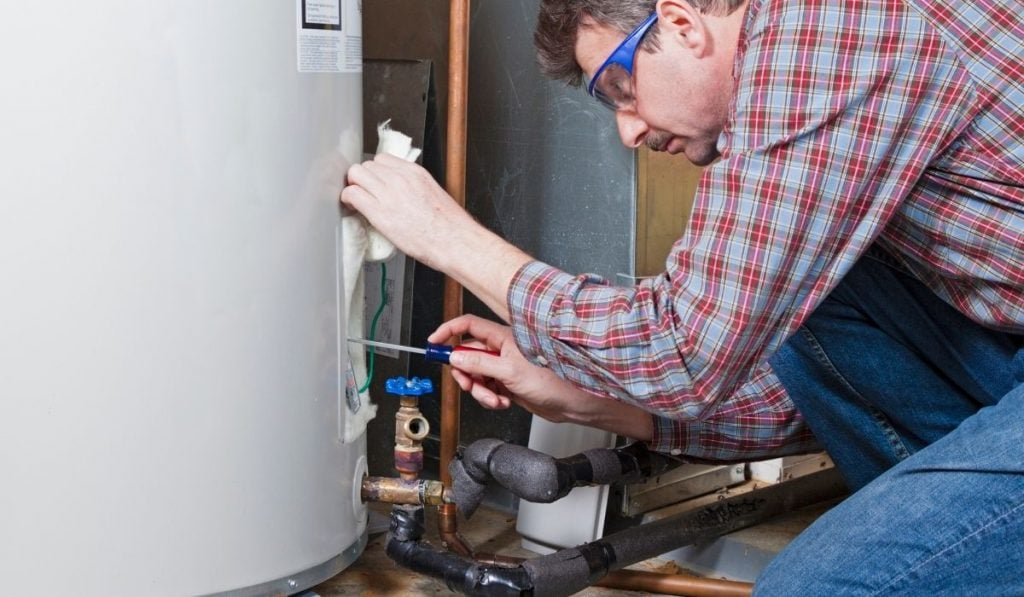 Emptying the Water Heater